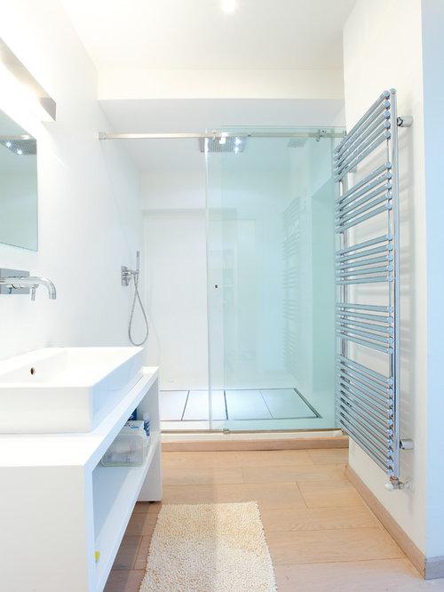Bagno con top in laminato foto idee arredamento - Laminato per bagno ...