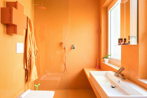 エクレクティック 浴室 by Paolo Fusco Photo