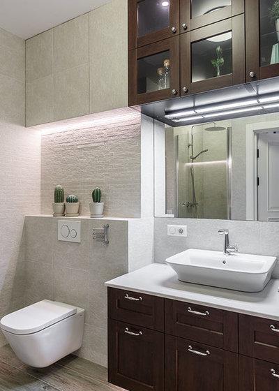Современный Ванная комната by K-studio Interior Design