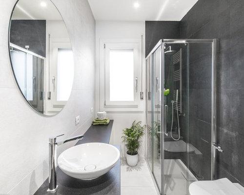 Piastrelle bagno bianche e nere affordable bagno bianco lucido x