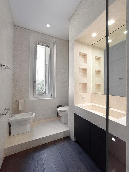 Bagno moderno con vasca incassata pasionwe for - Sale da bagno moderne ...