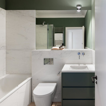 Project  Marble Bathrooms