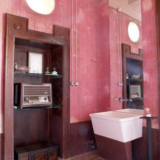 Esempio di una stanza da bagno chic