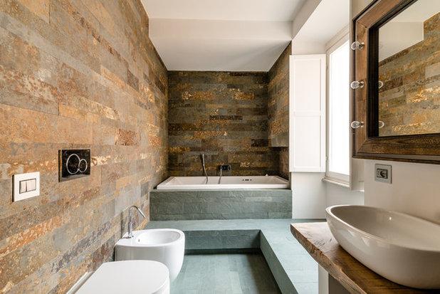 Rustico Stanza da Bagno by 3mq Architecture