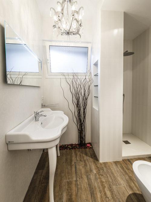 shabby chic style badezimmer ideen design bilder houzz. Black Bedroom Furniture Sets. Home Design Ideas