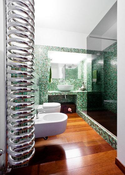 Contemporaneo Stanza da Bagno by 23bassi | Studio di architettura