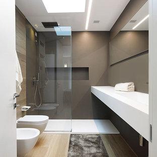 Idee per una stanza da bagno minimal