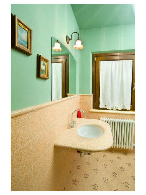Ideas para cuartos de ba o fotos de cuartos de ba o con for Habitaciones con azulejos