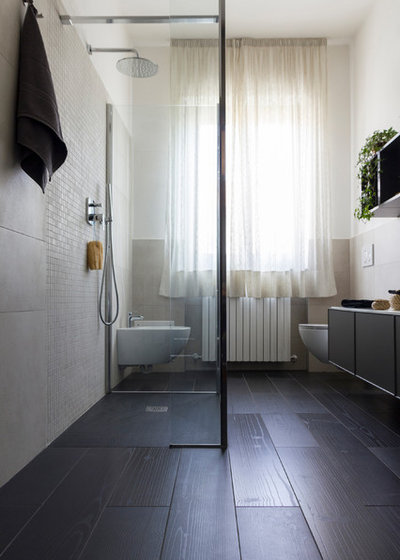 Contemporaneo Stanza da Bagno by Alhambretto Design Studio