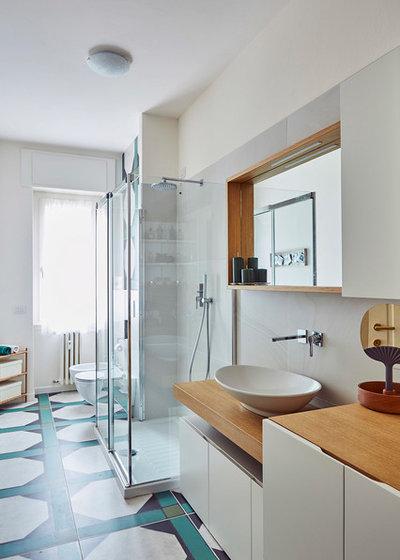 Contemporaneo Stanza da Bagno by Alhambretto Design Studio