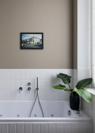 ミッドセンチュリー 浴室 by Betti Sperandeo Architetto