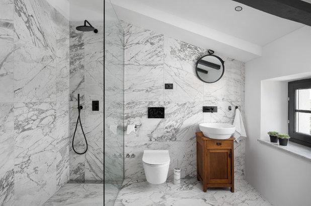 Mediterranean Bathroom by Boris Ruzic