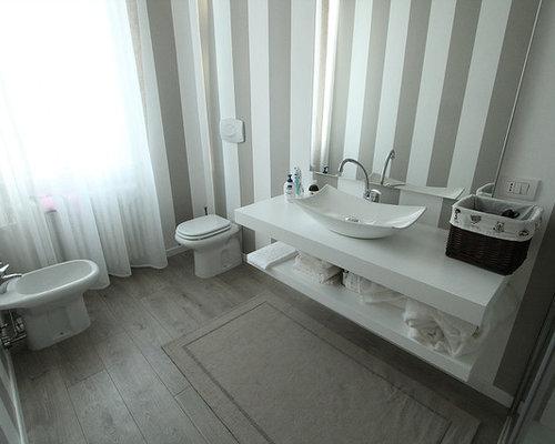 Foto e idee per bagni bagno shabby chic style - Bagno shabby immagini ...