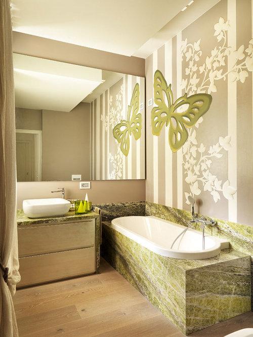 Foto e idee per stanze da bagno stanza da bagno contemporanea - Stanza da pranzo contemporanea ...