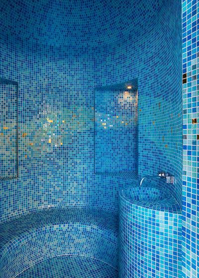 Contemporaneo Stanza da Bagno by Gabbiani & Associati - Studio di Architettura