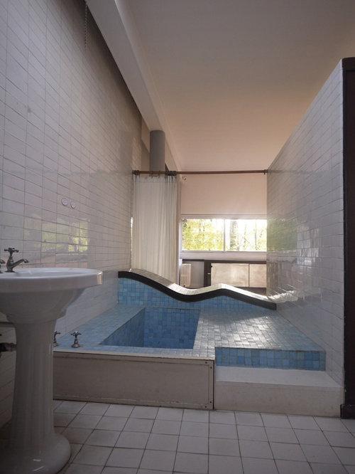 Salle de bain le corbusier villa savoye inspired ramp photos et id es d co - Salle de bain villa savoye ...
