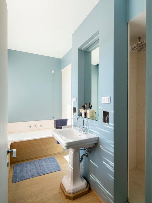 Ideas para cuartos de ba o dise os de cuartos de ba o - Banos con suelo de madera ...