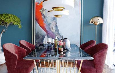 49 Stunning Dining Table & Pendant Light Combos