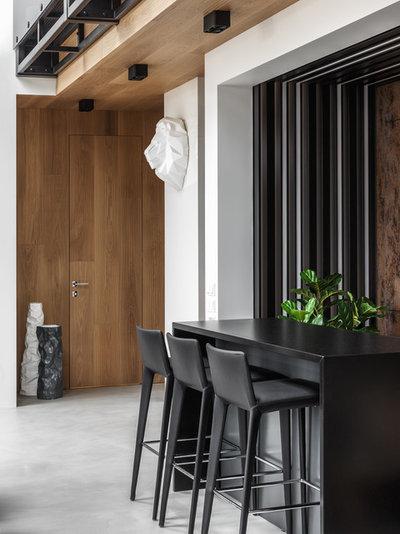 Contemporain Salle à Manger by DesignRocks