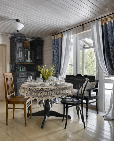 Farmhouse Dining Room by Lavka-Design