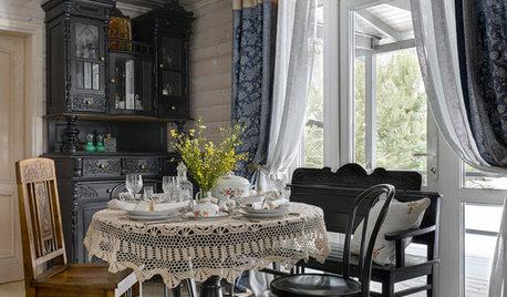 Houzz тур: Дача с яблоневым садом и бабушкиным наследством