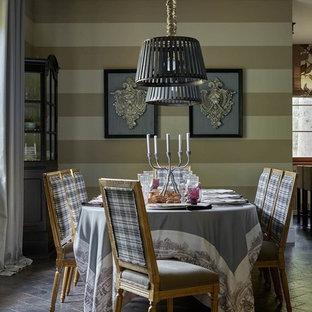Создайте стильный интерьер: столовая в стиле современная классика с бежевыми стенами - последний тренд