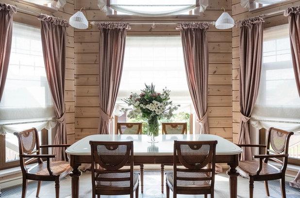 Farmhouse Dining Room by Ксения Бобрикова. Xenia Design Studio
