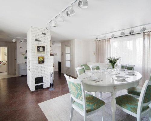 Scandinavian dining room in yekaterinburg