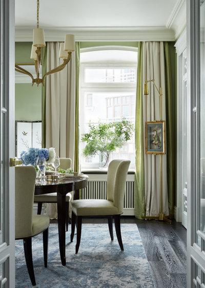 Неоклассика Столовая by Инна Зольтманн | Дизайн и Декорирование интерьеров