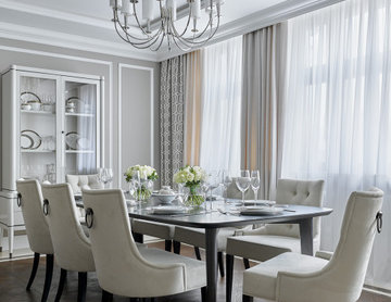 Элегантная квартира с элементами ар-деко