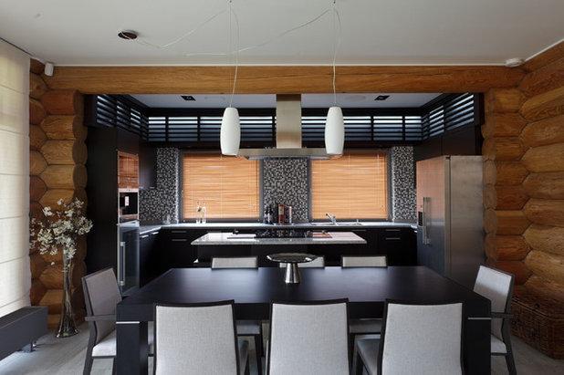 Современный Столовая by Архитектурное бюро LOFTING