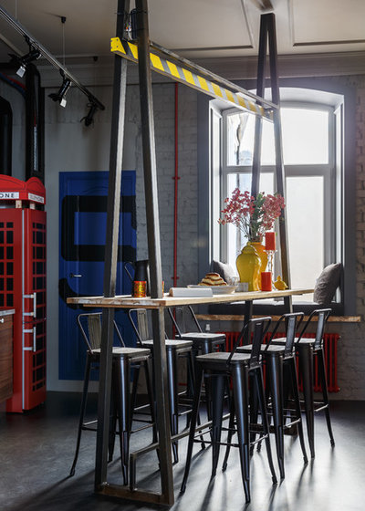 Industrial Dining Room by Totaste.studio | Виктор Штефан