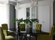 Furnishing dining area