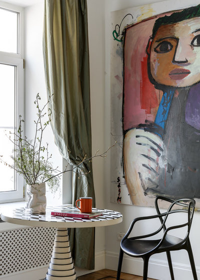 Eclectic Dining Room by propertylab+art