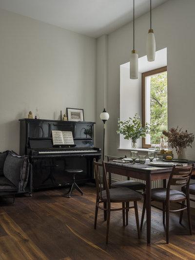 Современный Столовая by MO interior design