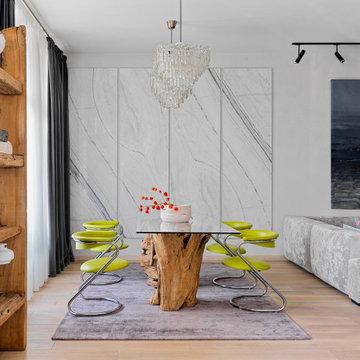 Квартира с мозаичным панно