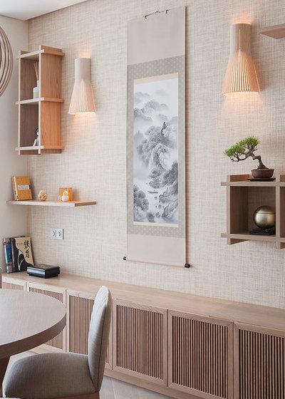 Houzzbesuch: Japanische Schlichtheit für ein Moskauer Apartment