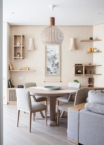 Современный Столовая by Ariana Ahmad Interior Design
