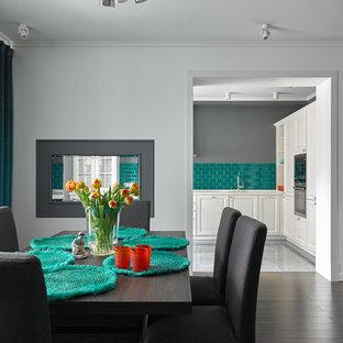 На фото: столовые в современном стиле