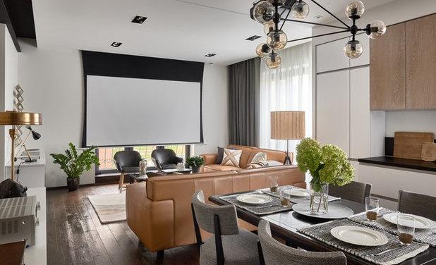 Современный Столовая by Make Interiors