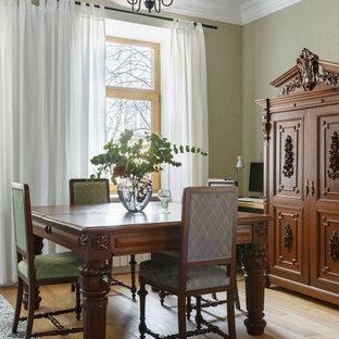 Идея дизайна: маленькая столовая в классическом стиле