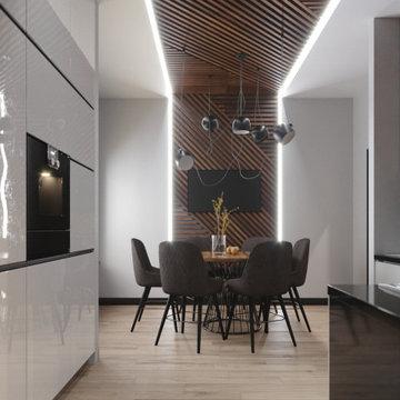 Освещение квартиры в ЖК LOOK
