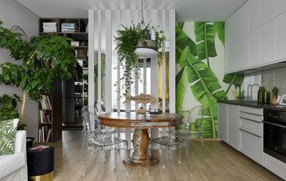 Фотоохота: Стена у кухонного стола — чем ее оформить