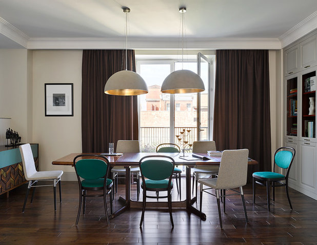 Современная классика Столовая by Room Service Interior