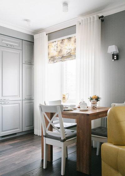 Contemporary Dining Room by Yuri Grishko