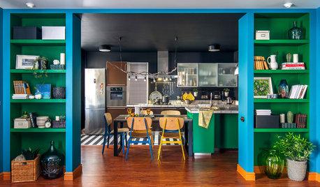 Houzz тур: Квартира с ярким настроением в Самаре