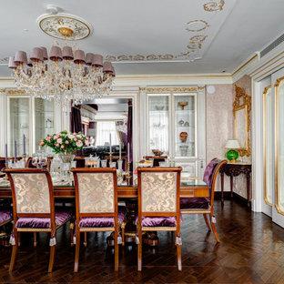 Пример оригинального дизайна: столовая в викторианском стиле