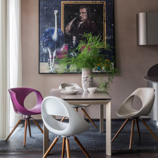 Стильный дизайн: большая столовая в современном стиле - последний тренд