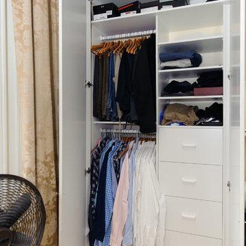 Balmain Terrace -Bedroom wardrobe interior make-over