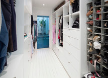 What is the dimension of the closet?  and cabinetry too